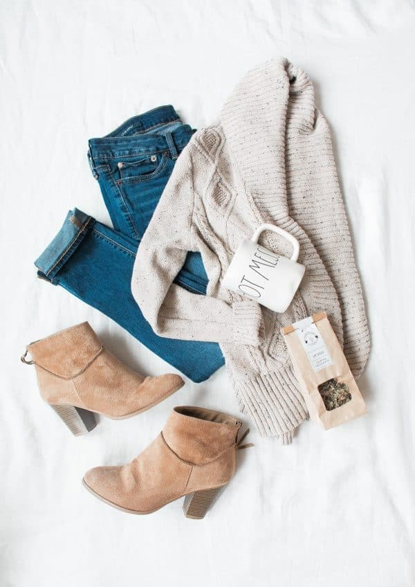 outfit casual con jean